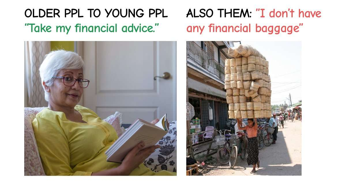 financial baggage generational advice